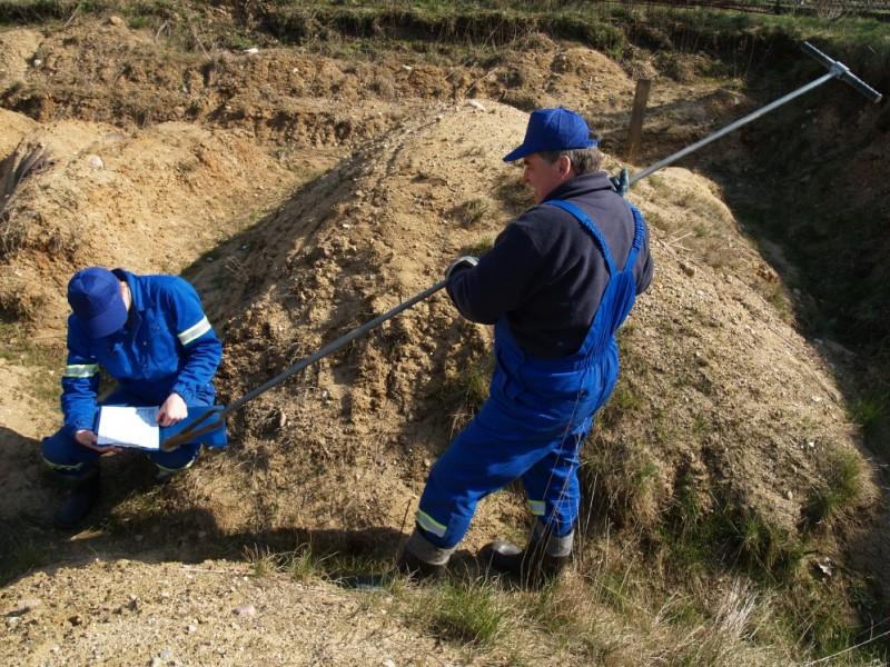 Geotechniczne badania gruntu w wykopie